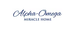 alpha-omega miracle home logo