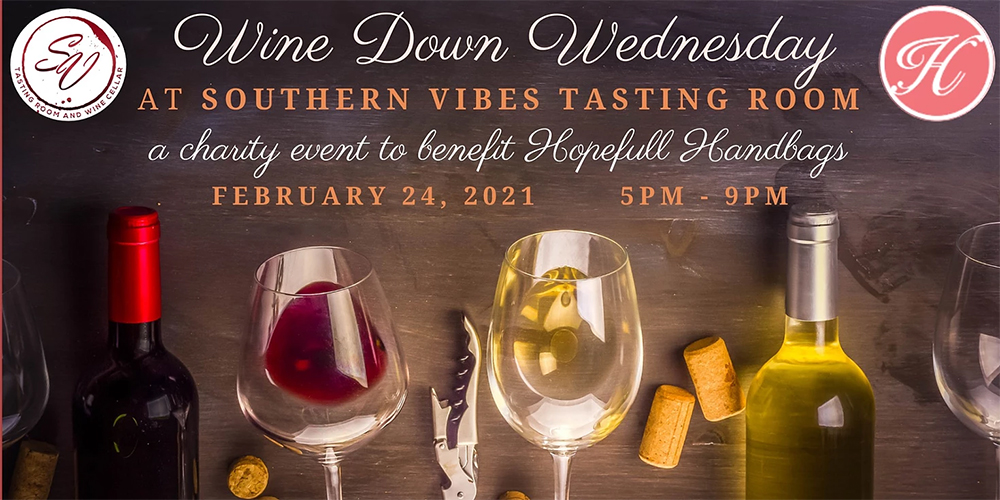 Wine down Wednesday is February 24 at 5pm