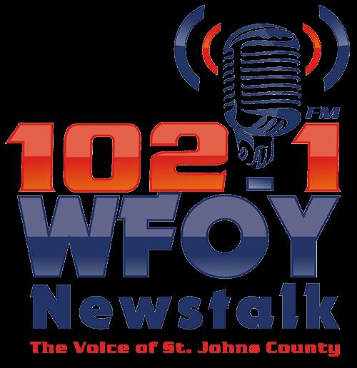 102.1 WFOY logo