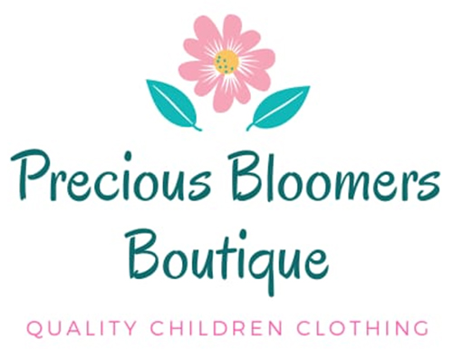 precious bloomers boutique logo
