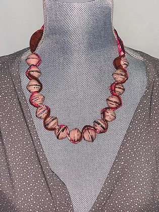 large beaded sezibwa necklace long